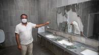 Kültür Park'taki Tuvaletlere Yönelik Saldırılar Bitmiyor