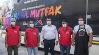 Mersin Büyükşehir'in Mobil Mutfak Tırı Selzedeler İçin Yola Çıktı