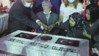Zafer Bayramı'nın 99. yıl pastasını 99 yaşındaki Yusuf Dede ve eşi kesti