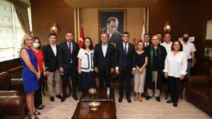 Başkan Seçer'den Mersin Barosu'na Ziyaret