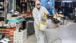 Çevre Koruma Ekipleri Kenti Haşerelere Ve Virüslere Karşı Koruyor