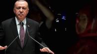 Taş Ocağı protesto eden köylüler, Cumhurbaşkanı Erdoğan'ın konvoyunun geçişi sırasında slogan attı