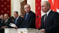 3 saatlik kritik görüşmenin ardından Erdoğan ve Putin'den ilk sözler! Kırım gerginliği unutuldu
