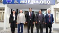 Başkan Yılmaz'dan, Camiler Ve Din Görevlileri Haftası'nda Müftülüğe Ziyaret