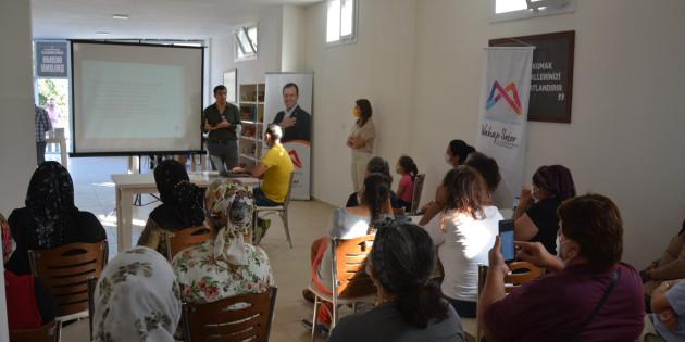 Mersin Büyükşehir'in Halk Sağlığı Eğitimleri Sürüyor