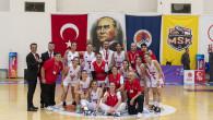 Büyükşehir'in Kadın Basketbol Takımı Karşıyaka Çarşı Koleji'ni 103-49 Yendi